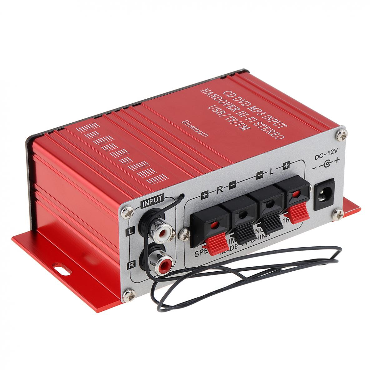 G8 2ch Bluetooth Car Audio Power Amplifier Sd Usb Fm Mp3 Player With 20w Stereo Circuit Based Tda2005