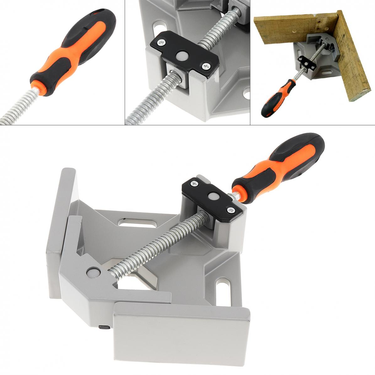 details about 90 degree corner right angle clamp vice grip welding  woodworking aluminium