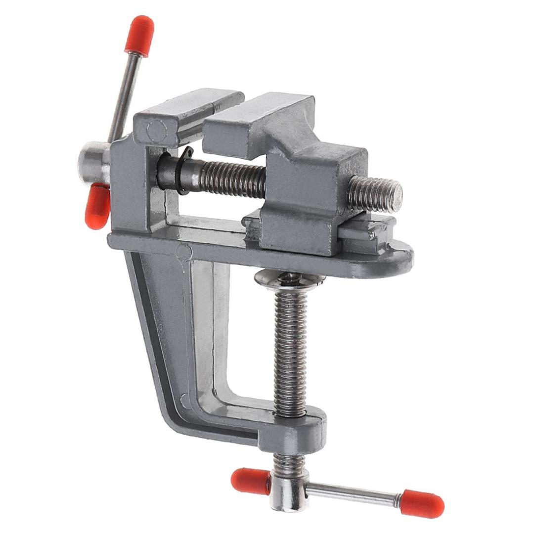 Quality Mini Swivel Bench Clamp Small Table Top Vice Base Flat Jaw